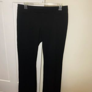 Gap Modern Boot Black Work Trouser Bootcut Pants